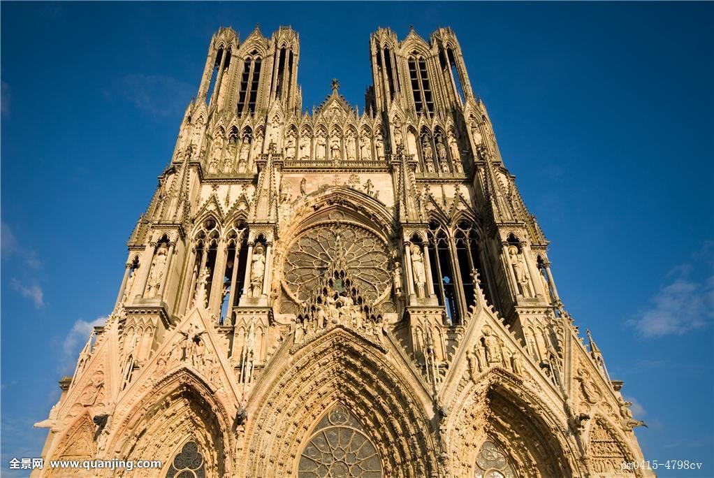 宗教,教堂,著名,石头,大教堂,留白,欧洲,白人,法国,塔,建筑,风格图片