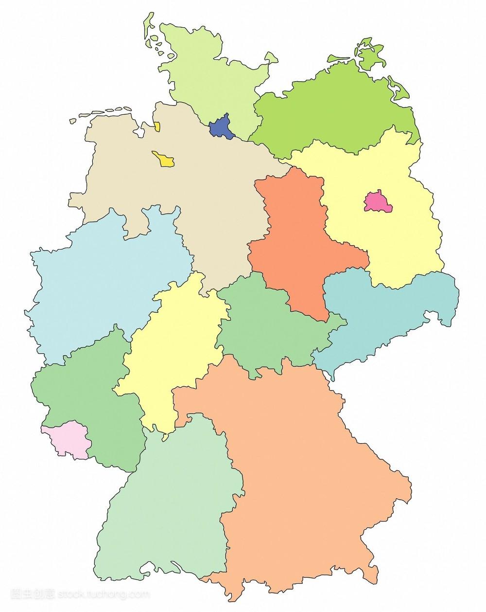 郊外,纸牌,社会,欧洲,州,卡,陆地,图画,地图,摄影,德国,卡片,欧洲的图片