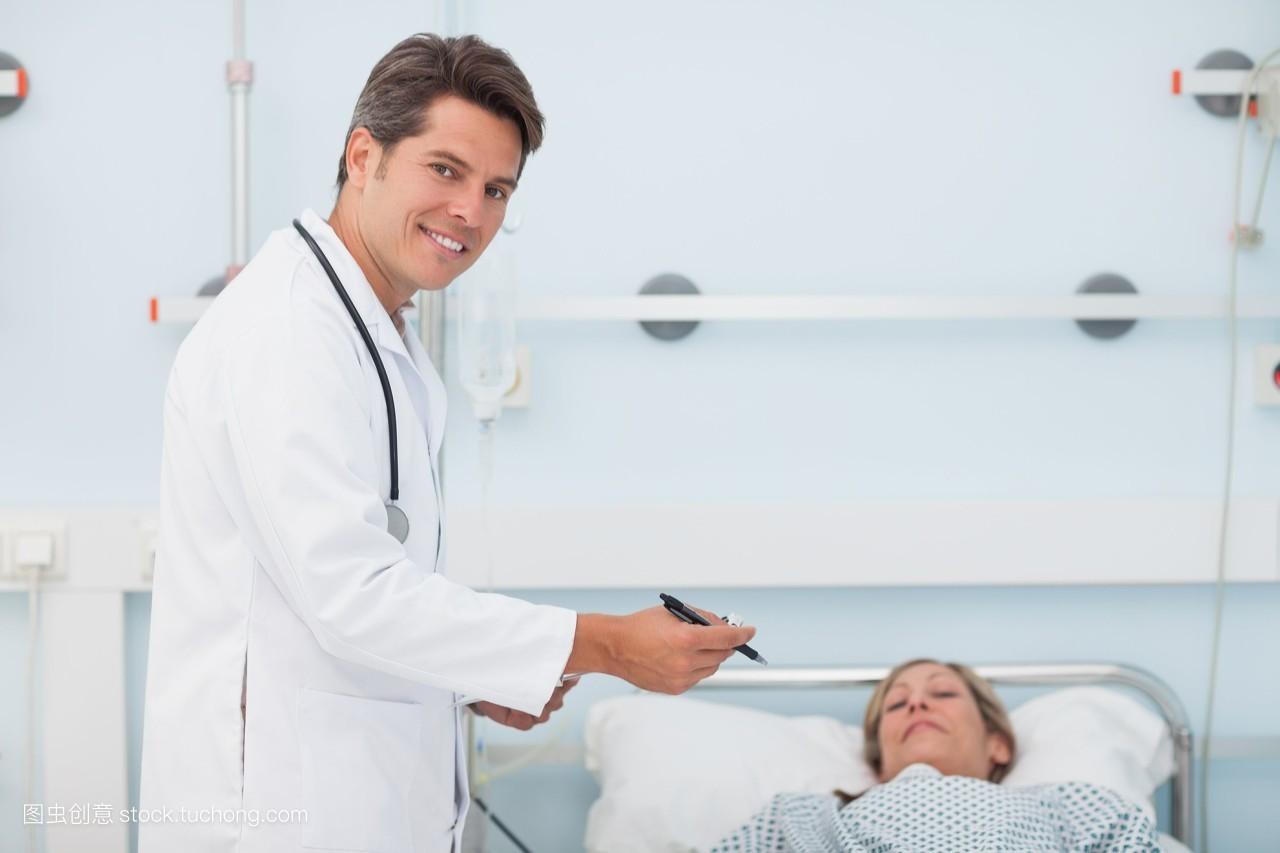 从业者,健康,就寝,耐心,躺着,患者,医学,护理,爱惜,专科医生,金色头发图片