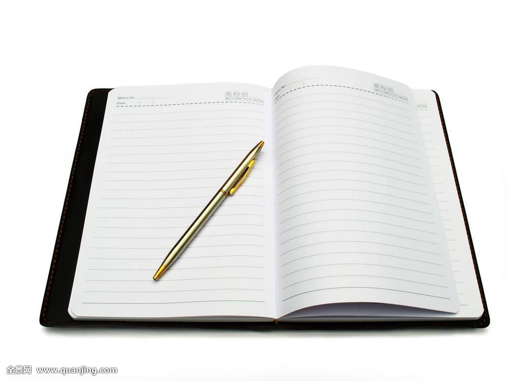 书本,日记,笔,留白,书页图片