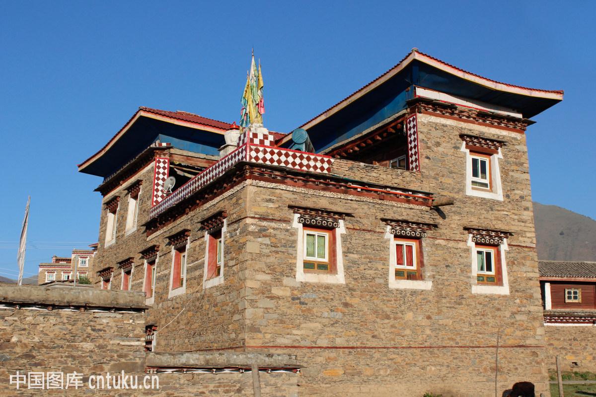 藏式民居图片