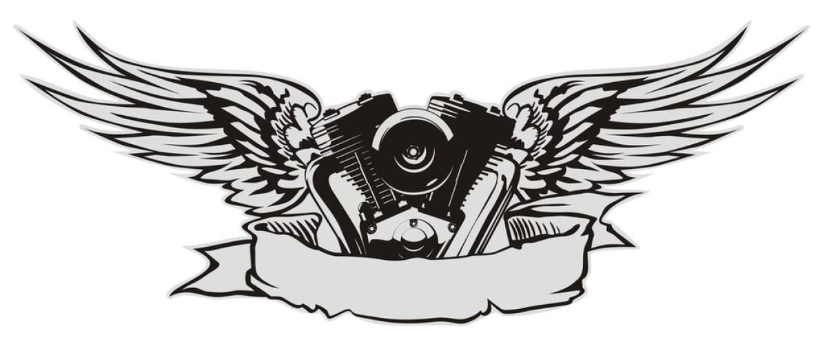 v8发动机纹身