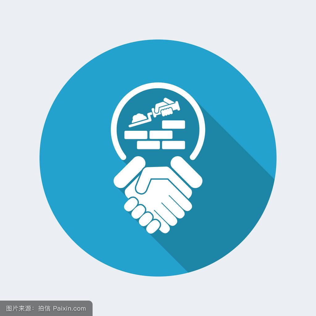 学�y.�9l>[�~K�>K�_可以,铲,腐败,专业的,工具,概念,符号,建筑学,房子,行业,工人,握手