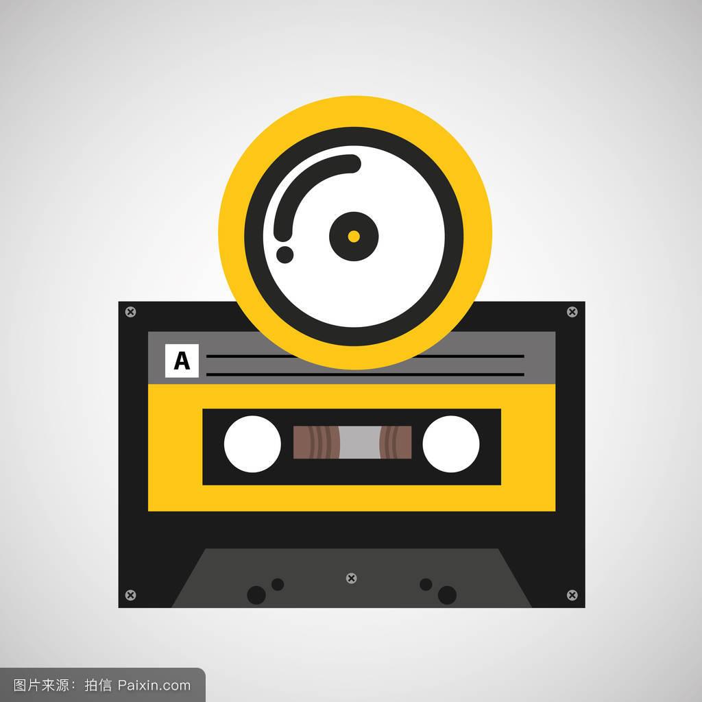 cd盒式录音带