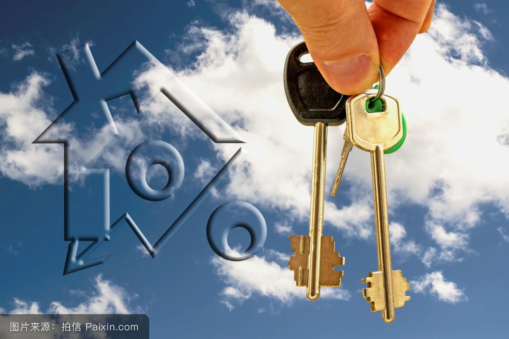 代理人,真实的,安全,梦想,提供,机会,新的,租金,主人,乔迁,钥匙,未来图片