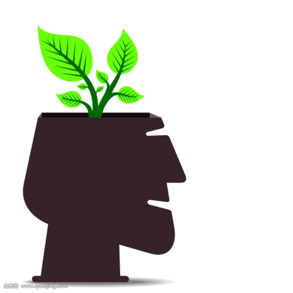 小��(���^kN�_环保,概念,小,植物