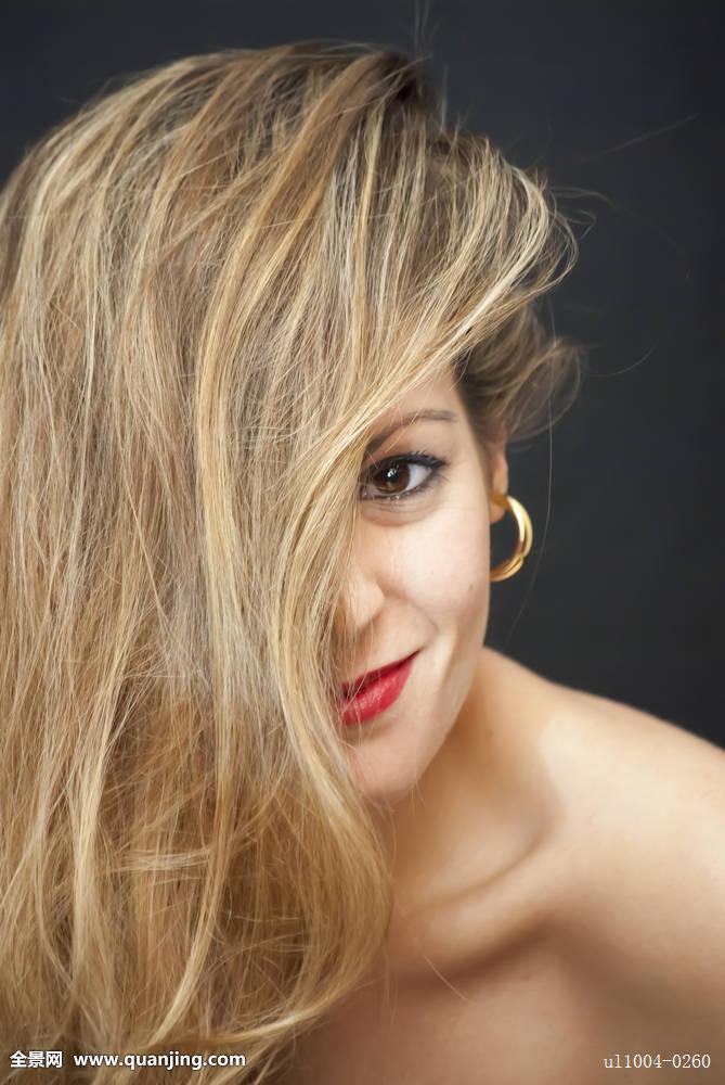 女孩头发护理分享展示图片