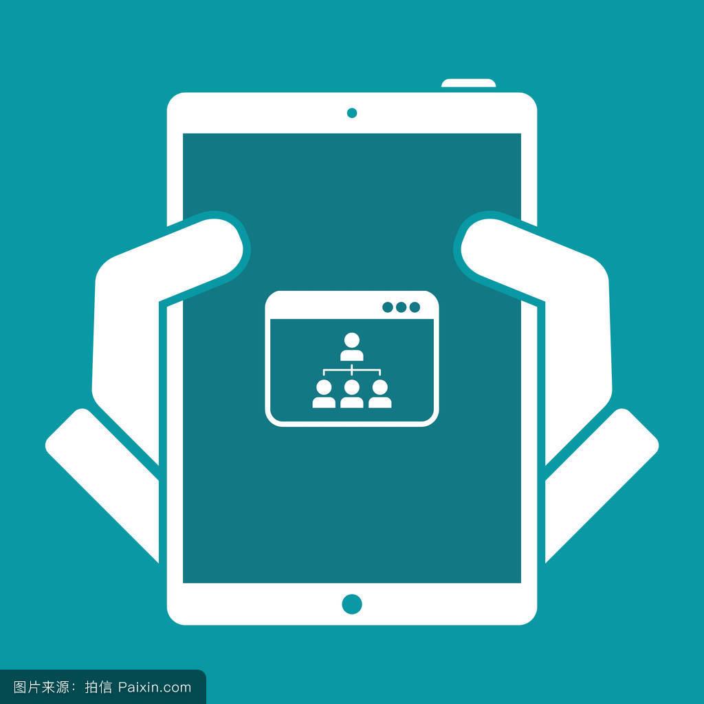 分离,社会的,统一,互联网,连接,笔记本电脑,交换,分享,办公室,dicital图片