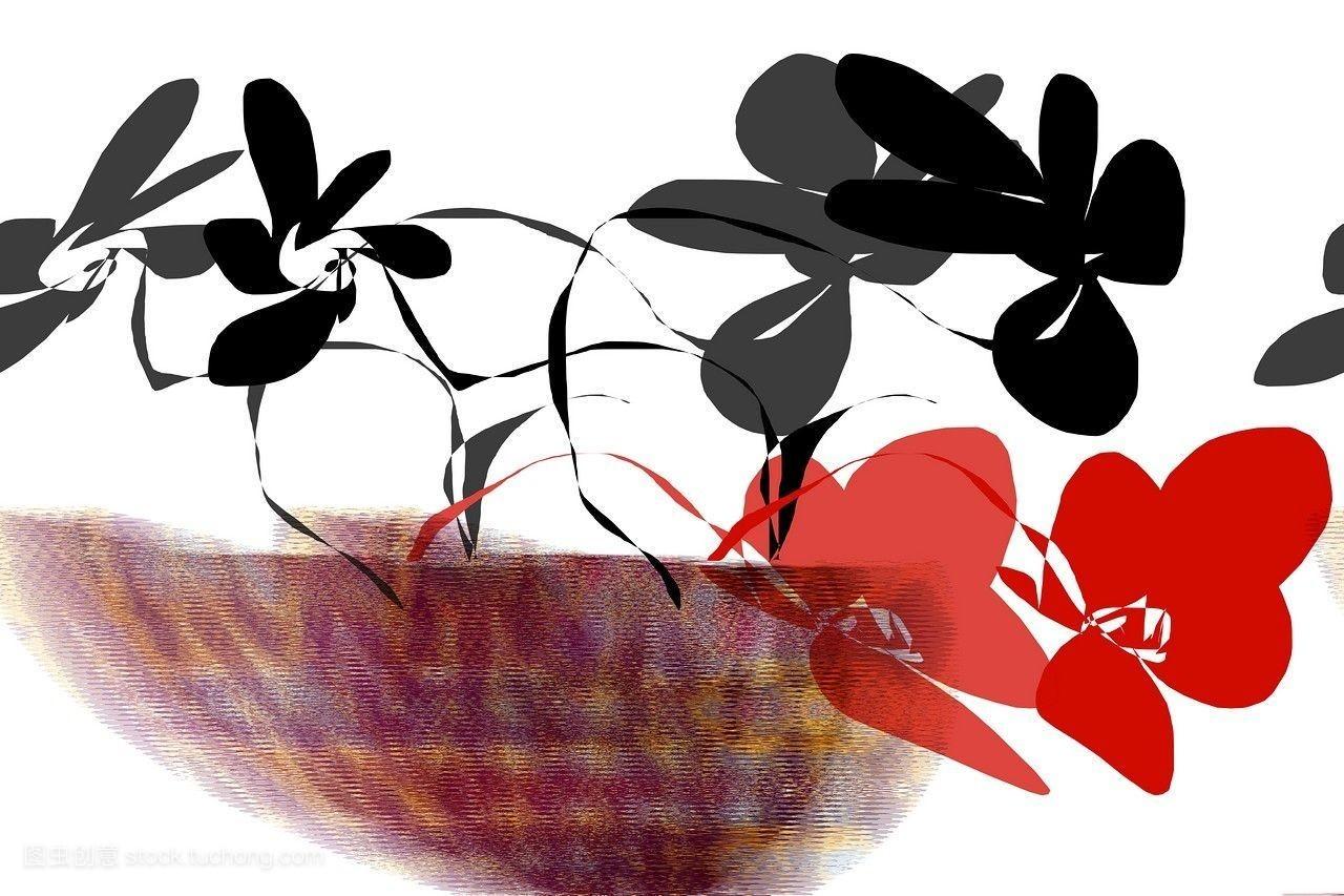 美丽,开花,拼图,活力,式样,激励,流行,漫画插图,夏天,视觉的,自然,艺图片