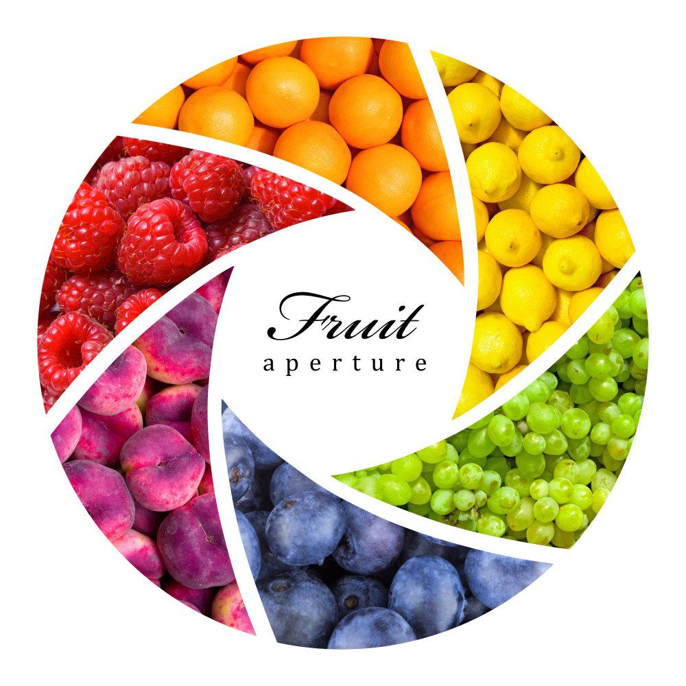 水果拼接图片