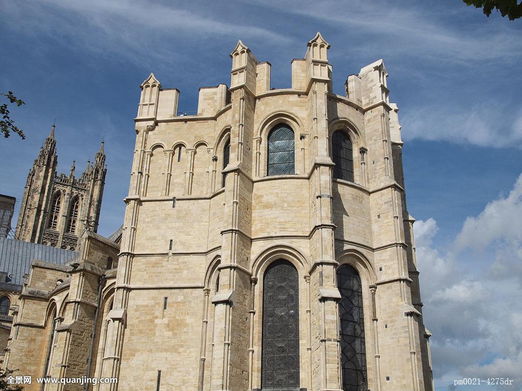 宗教,教堂,大教堂,留白,欧洲,白人,旧式,英格兰,南,风格,建筑,建筑图片