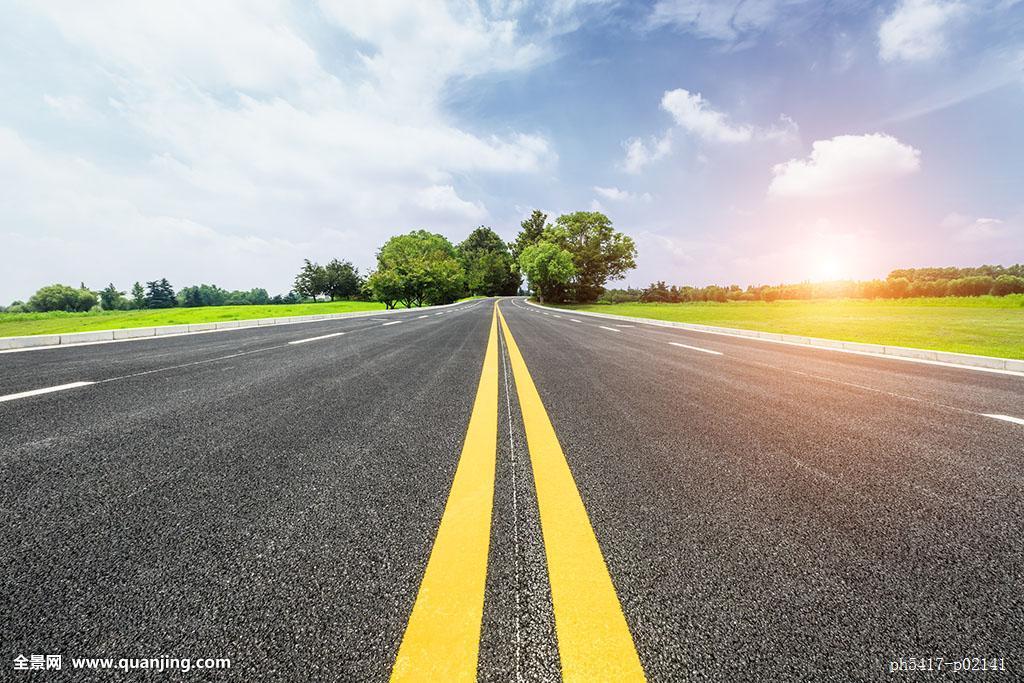 路�_沥青,道路,公路,美丽,天空