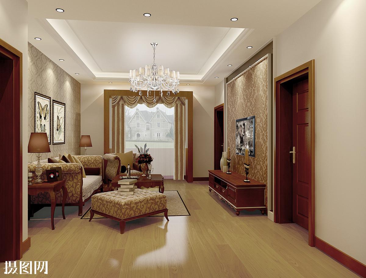 新中式,室内效果图,3d效果图,家装,装修,沙发,桌子,家居,客厅效果图图片