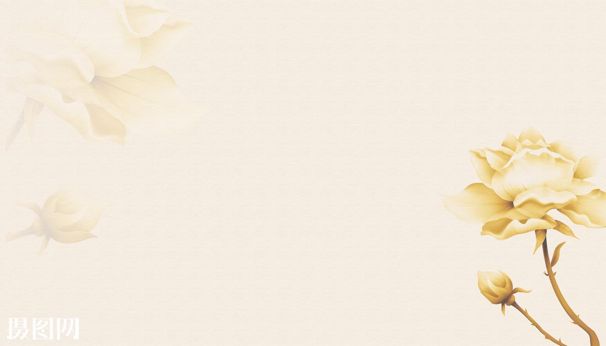 花,金花,海报,展板,banner,化妆品背景,中国风,中国风背景,宣纸,素雅图片