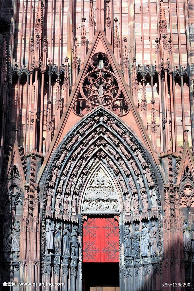 阿尔萨斯,建筑,大教堂,教堂,城市,欧洲,法国,哥特式,中世纪图片