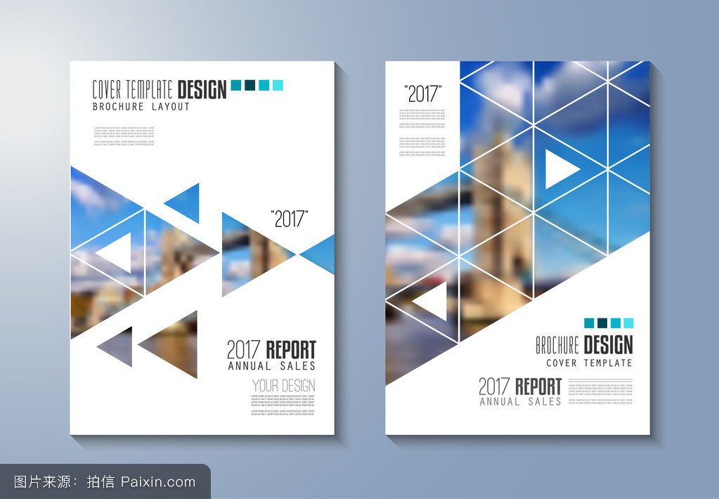 brochure template, flyer design图片