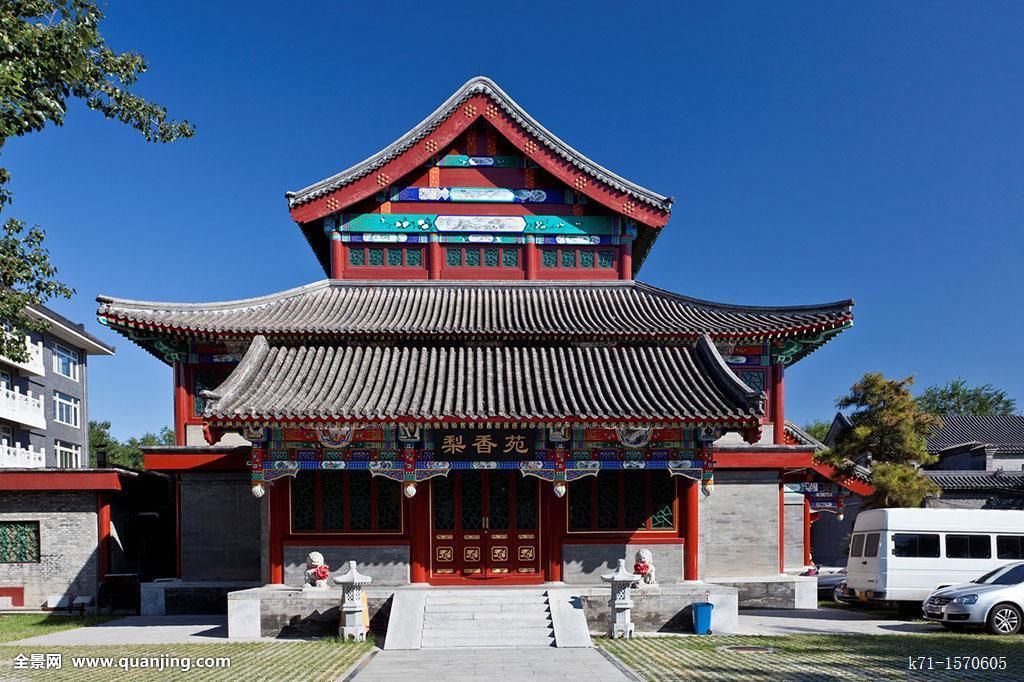 塔,中式建筑,公园,北京,中国