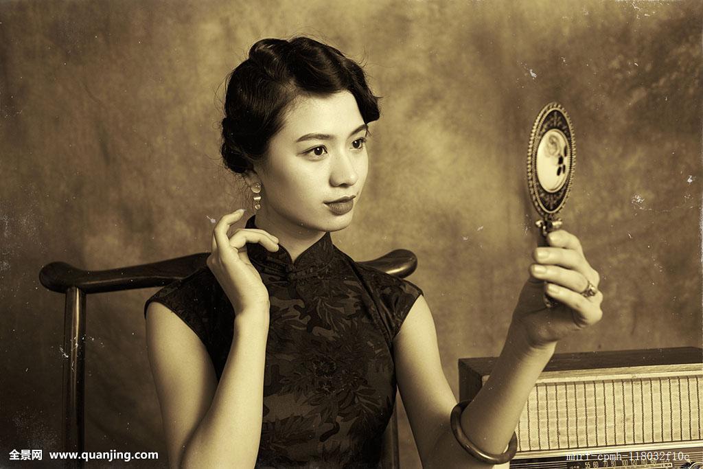 民国时期年轻女子发型分享展示