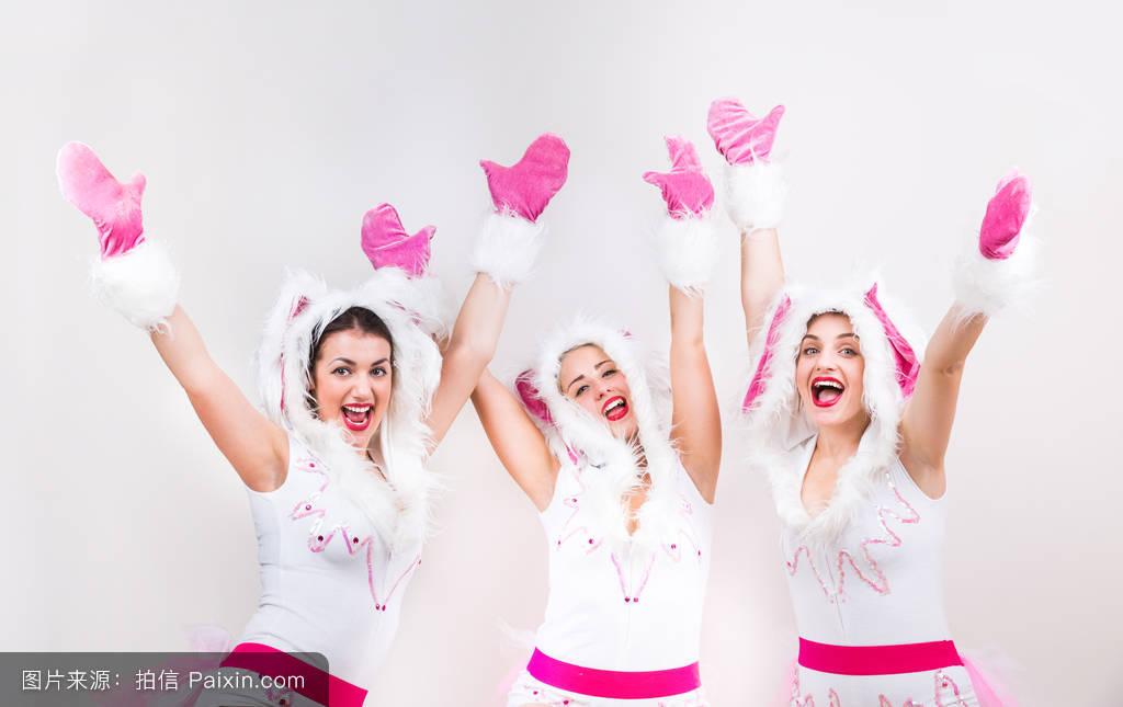 白色,白种人,花花公子,年,女性的,优雅,令人愉快的,有趣的,帽子,女孩图片