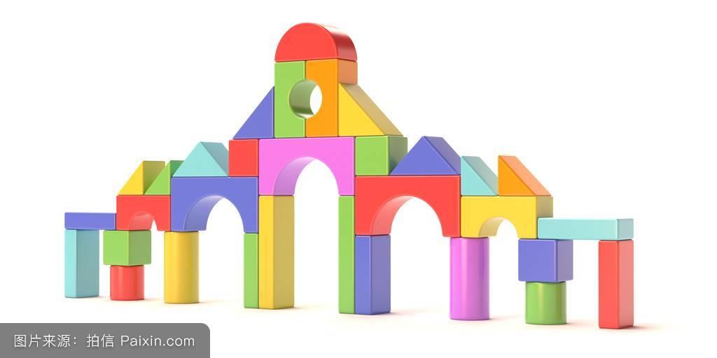幻想,房子,cgi,童年,木制的,快乐,红色,安排,分离,城堡,几何图形,对称图片
