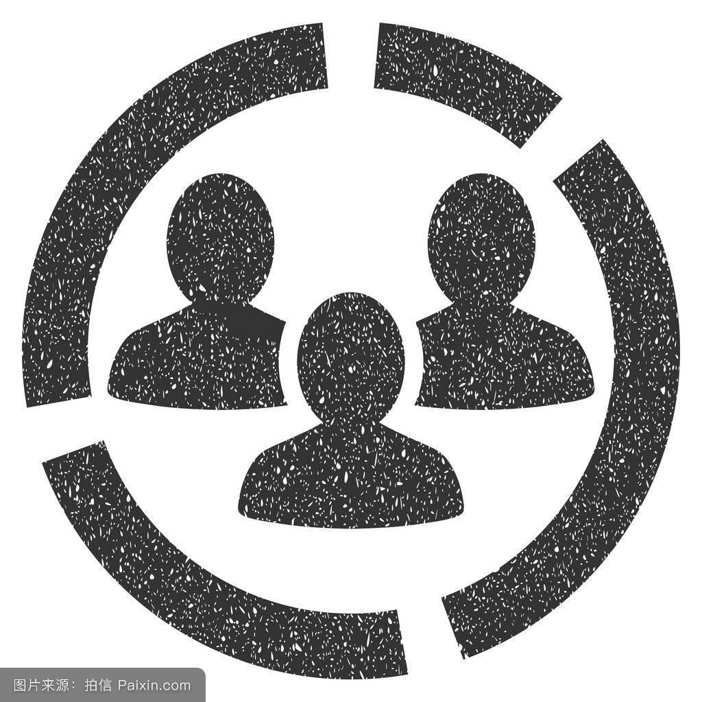 用户,团队合作,古老的,橡胶,连接,人口统计学的,密封,打印,字形图标图片