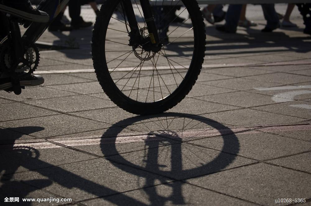 剪影,轮子,托架,运动员,竞技,逆光,自行车,制动,骑自行车,光盘,环境图片