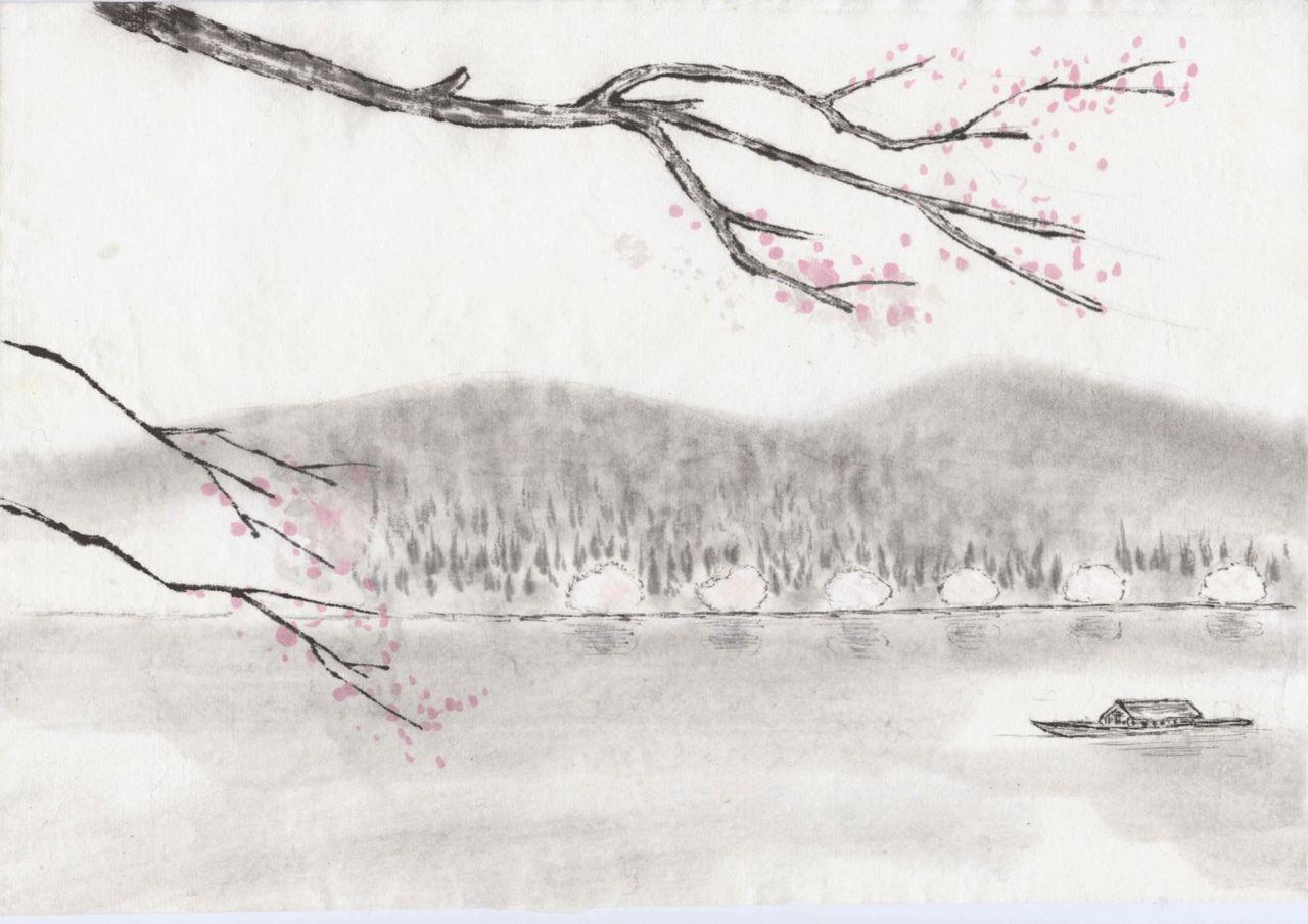 水墨畫照片集錦圖片