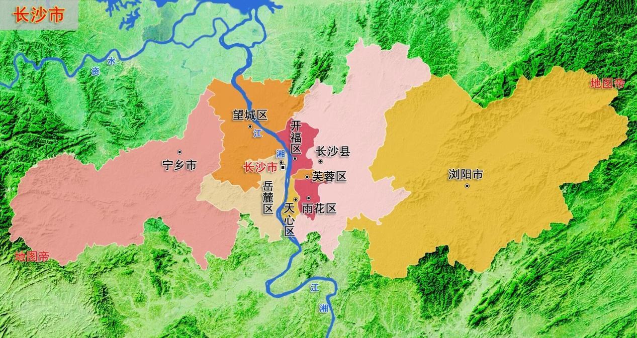 株潭一体化_长株潭一体化的长沙株洲湘潭三市核心城区都有哪些?