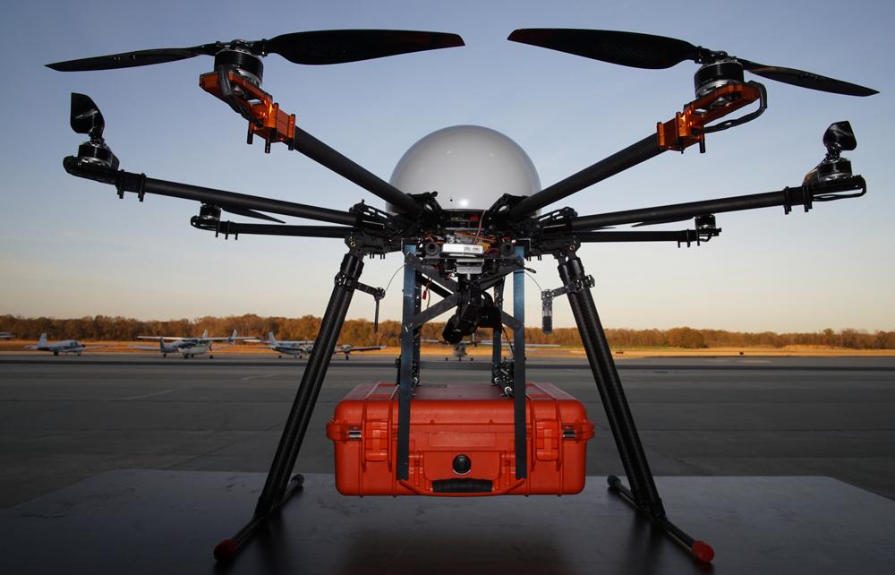 昊翔H520六旋翼無人機評測  航拍新手也能輕松操控的行業級無人機