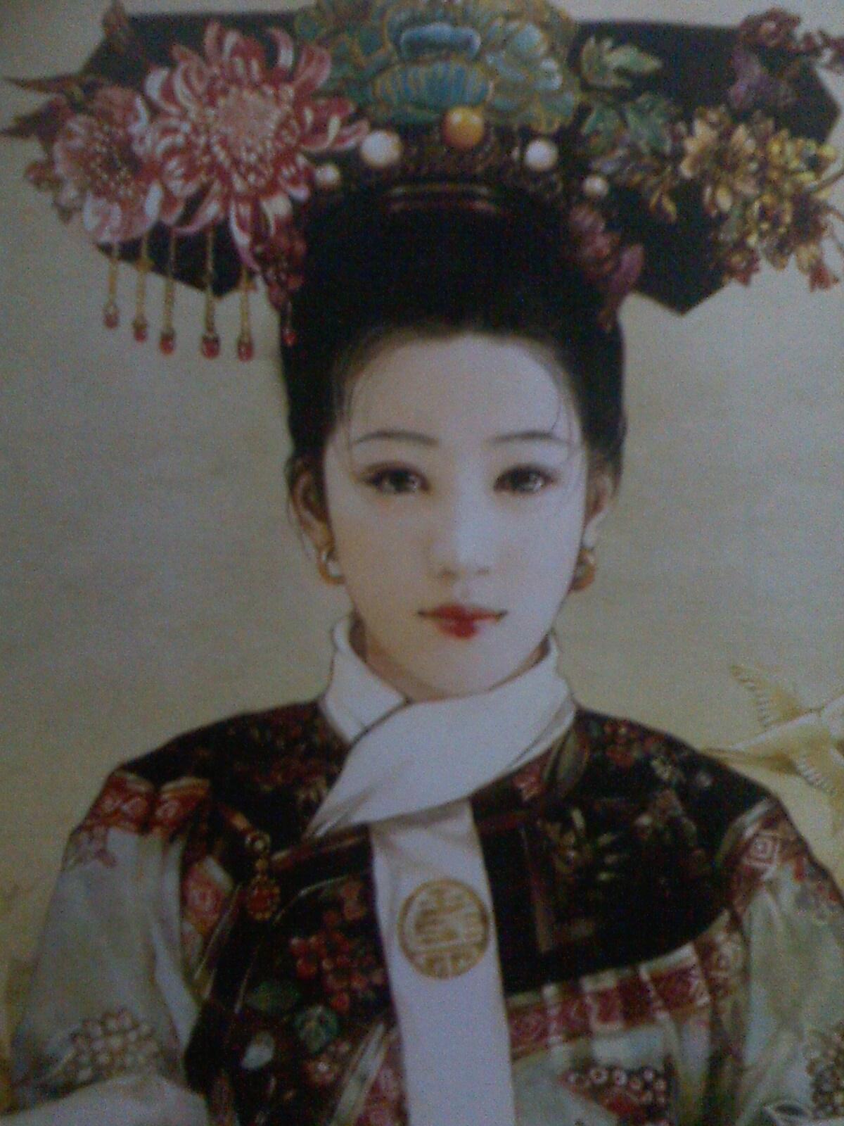 清朝皇帝龙根磨妃子_清朝妃子照片上的童星图片_清朝妃子照片上的童星图片下载