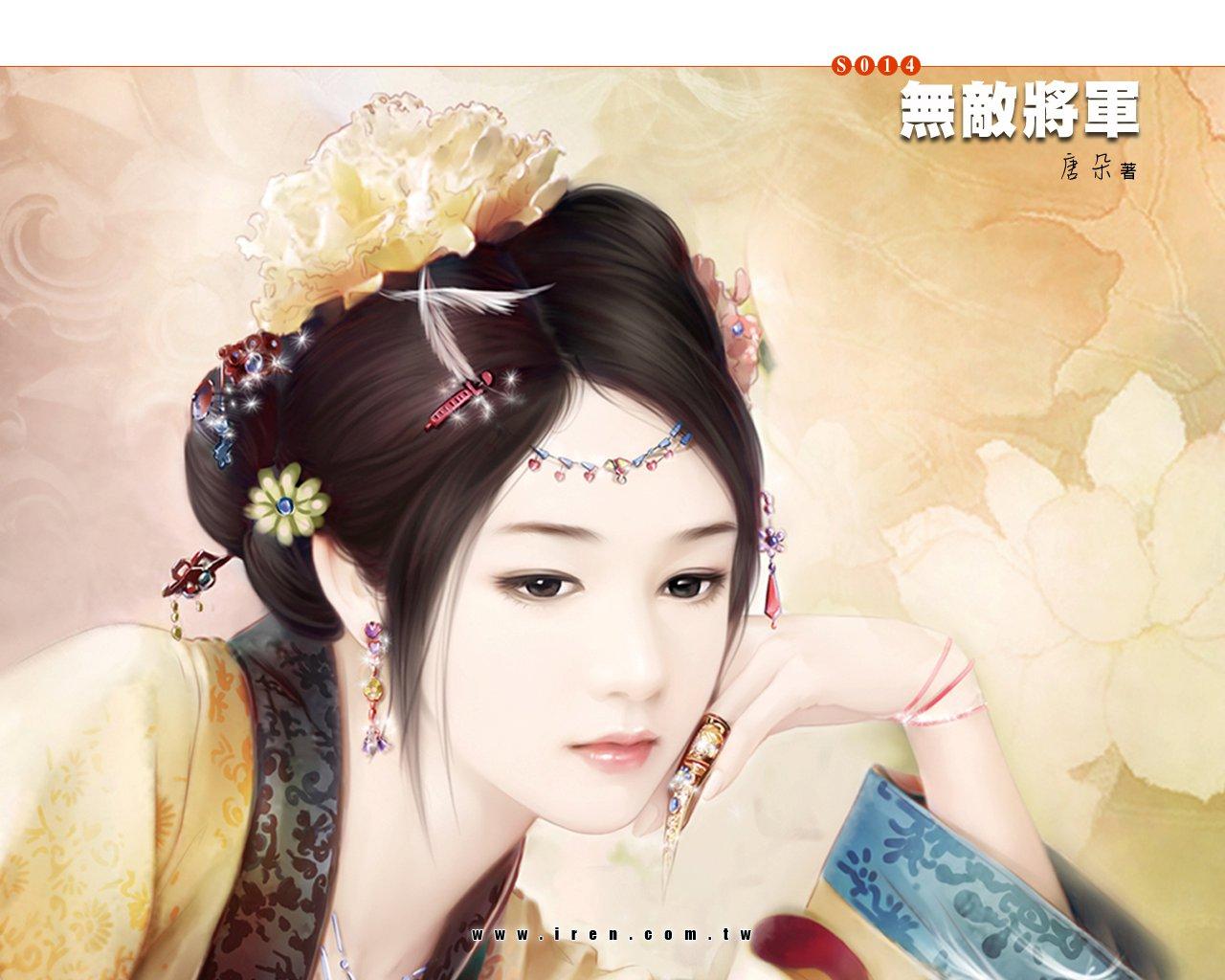古装美女丹青_古代美女丹青图片_古代美女丹青图片下载