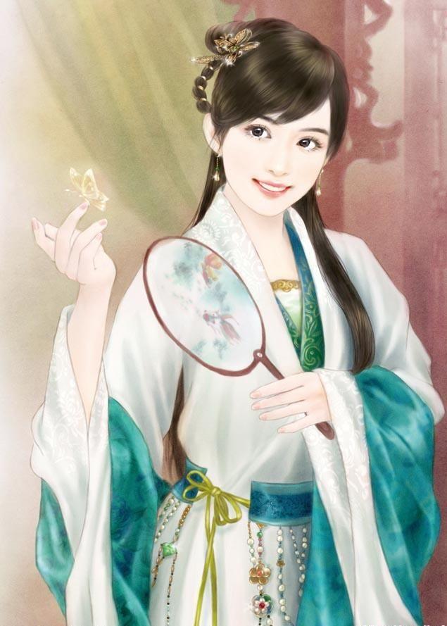 古装美女丹青_各种美腻古装美女丹青