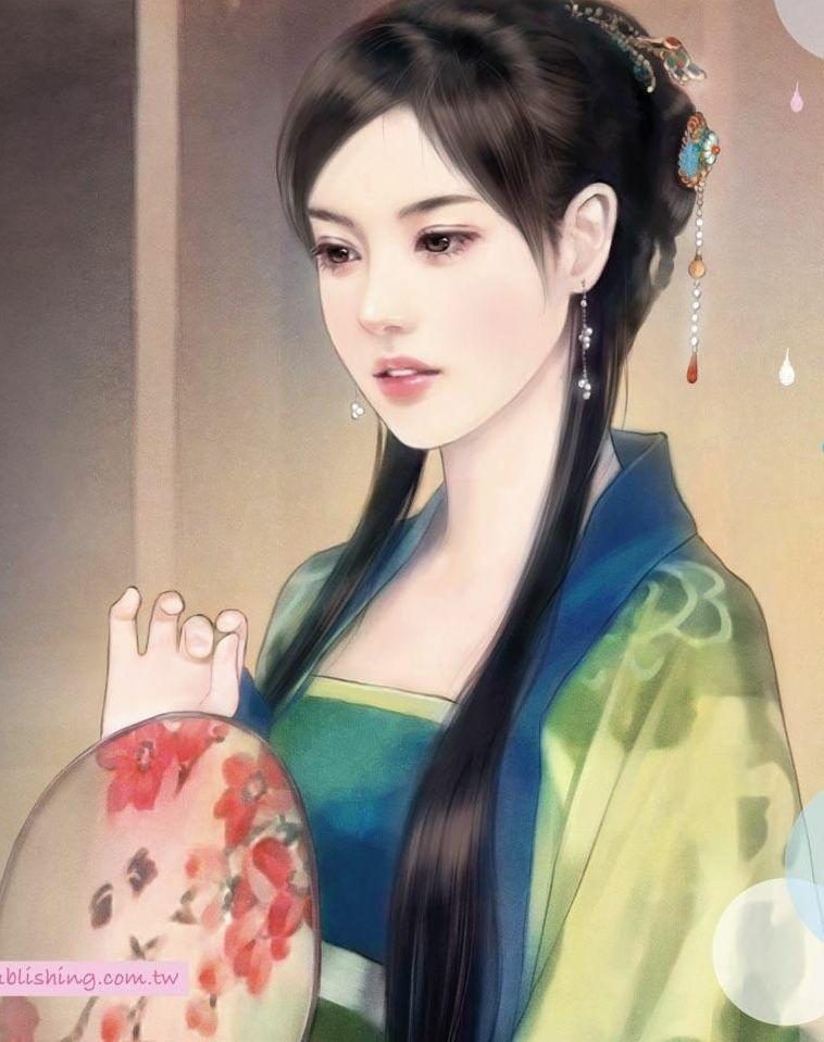 古装美女丹青_古代美女 手绘 丹青展示_古代美女 手绘 丹青图片下载