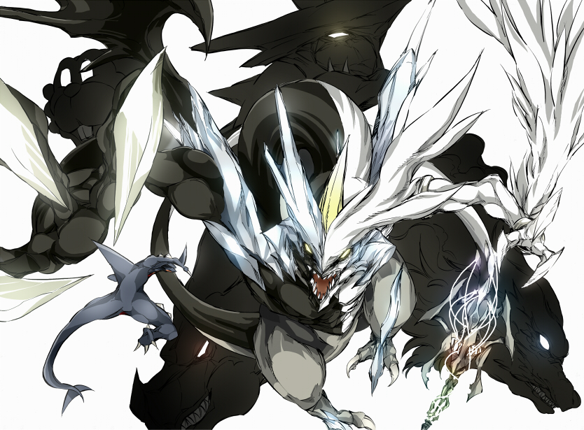 zekrom reshiram combined - photo #15