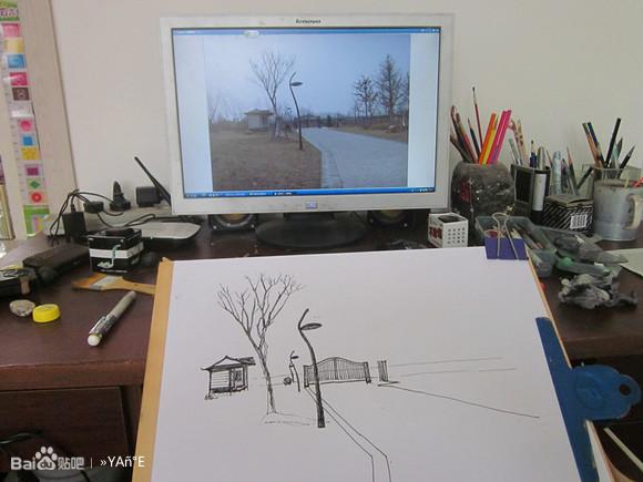 柳江古镇速写_速写风景古镇画_速写风景古镇画高清图片