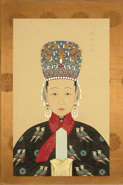 手绘古代公主_历代皇后画像图片展示_历代皇后画像相关图片下载