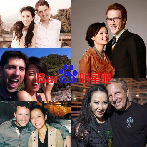 嫁给外国人的女明星_细数那些嫁给外国人的的女明星,哪个洋老公最有福气?_明星吧 ...