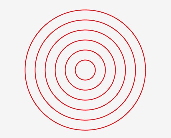 同心圆_在做同心圆的时候怎么等距复制缩放呢?【illustrator吧】_百度贴吧