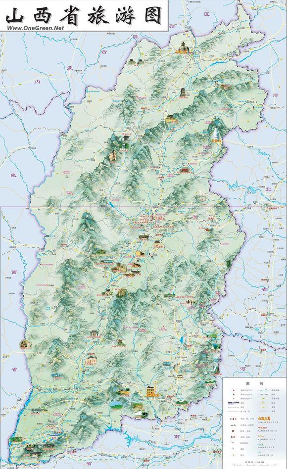 山西晋城市旅游景点_从谷歌地图看@山西旅游_芮城吧_百度贴吧