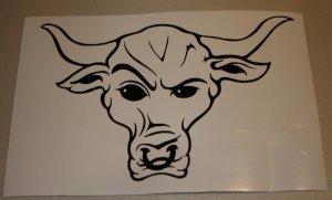 麻烦大神给我找下巨石的牛头纹身草图...