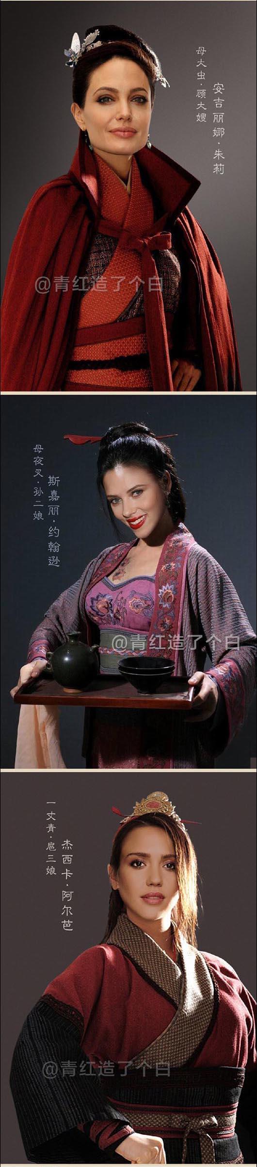 外国人翻拍《水浒传》?你别说光看照片还真的惟妙惟肖,好莱坞豪华阵容