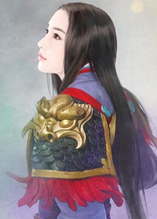 手绘古代公主_【求图】有没有古代女将军的手绘图_古装手绘美女图片吧_百度贴吧
