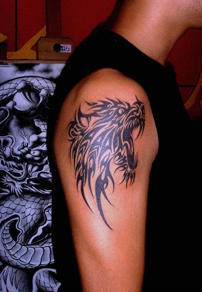 狼纹身图案大全_狼头纹身大全-纹身图案图片大全_铁木针纹身吧_百度贴吧