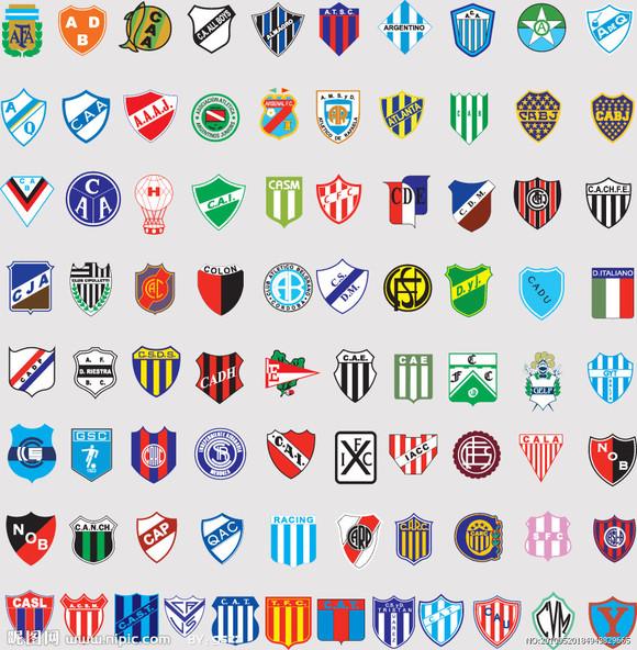 足球球队标志和名字_全球2487个足球俱乐部球队标志及国家队足球队徽你知道几个 ...