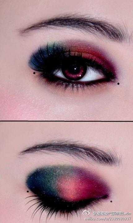 拉丁舞眼妆图片_【图片】求,拉丁眼妆,大神快进~【拉丁舞吧】_百度贴吧