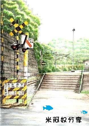 彩铅风景_【分享】非常漂亮的日本彩铅风景画~_彩铅画吧_百度贴吧