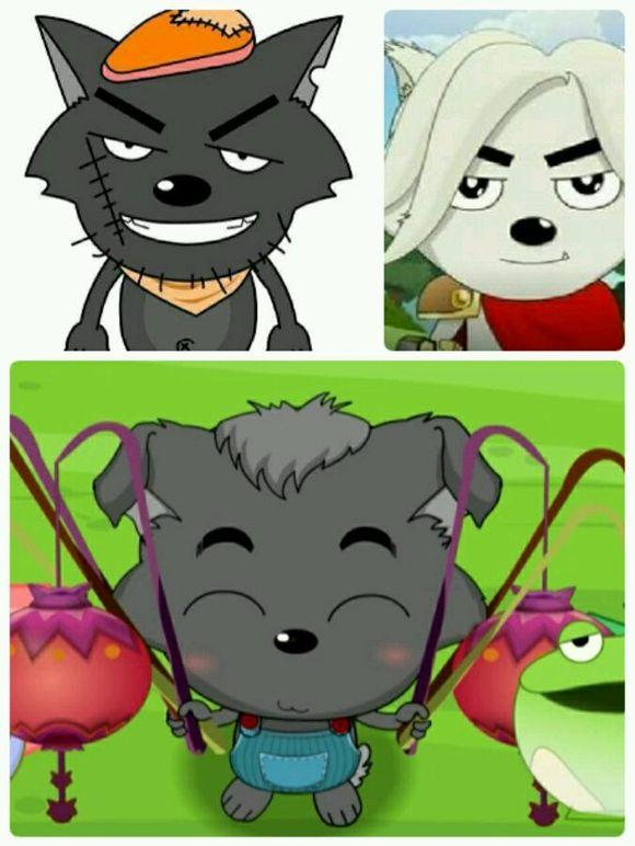 红太狼和小灰灰_【图片】【热狗说】小灰灰到底是谁的孩子_热狗说吧_百度贴吧