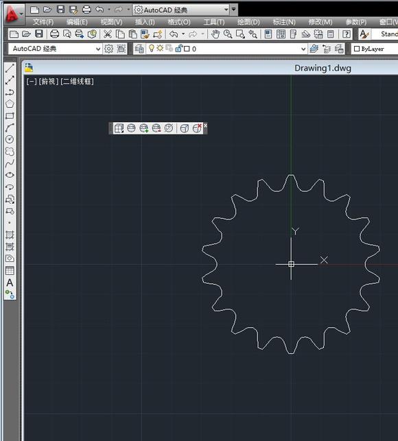 链轮画法_caxa链轮画法_caxa链轮画法设计