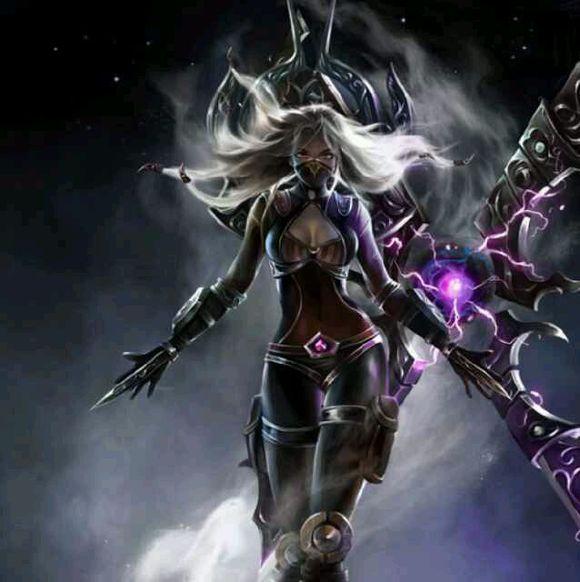 lol福利女角色韦恩图_英雄联盟女角色邪恶图_英雄联盟女角色邪恶图画法
