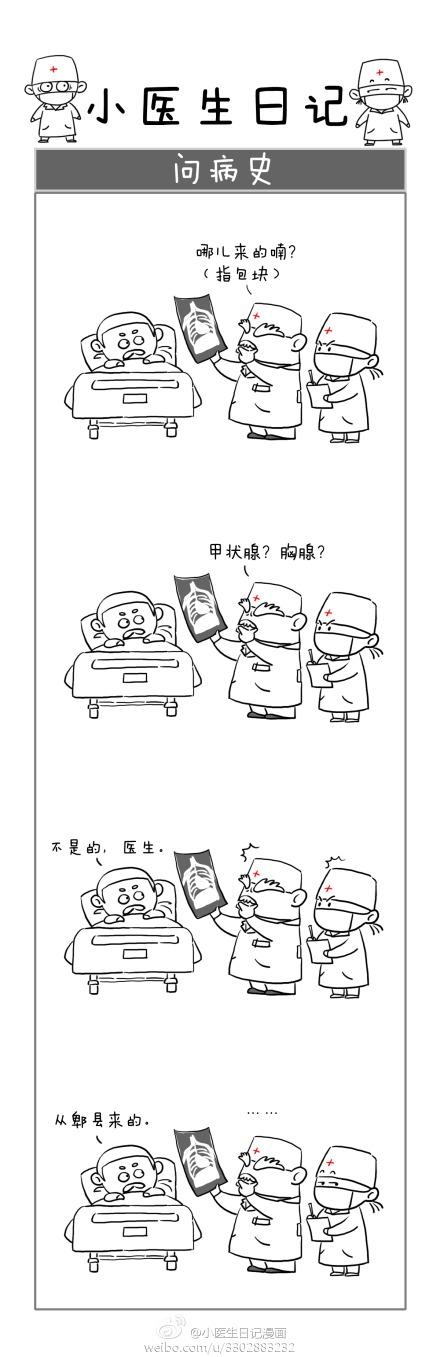 小医生日记-微漫画_【图片】转~【小医生日记漫画】超写实超可爱【广西中医药大学 ...